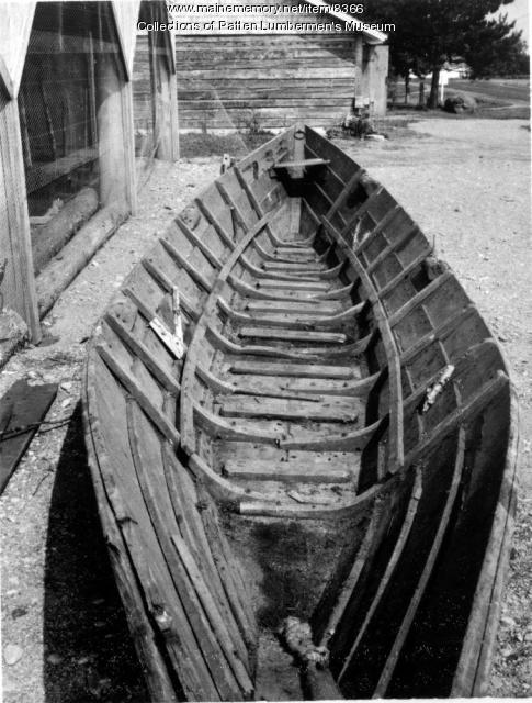 Interior of bateau