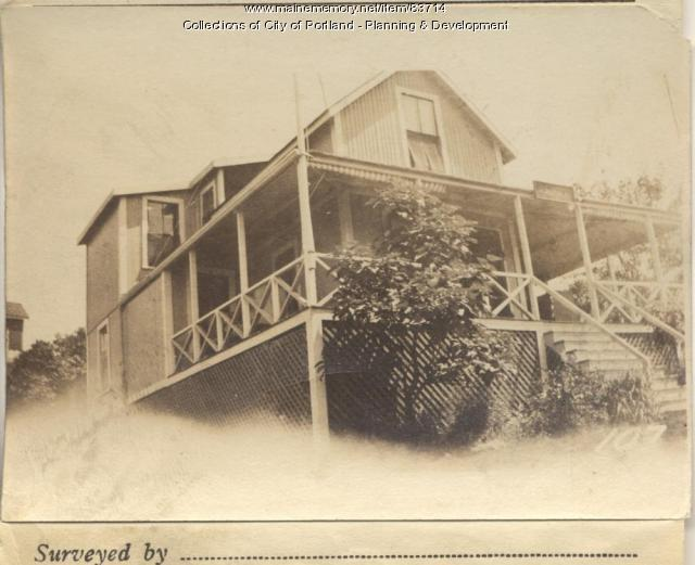 Skillings property, S. Side Sargent Road, Peaks Island, Portland, 1924