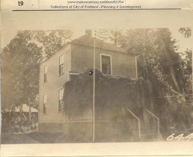 Purinton property, N. Side Sterling Street, Peaks Island, Portland, 1924