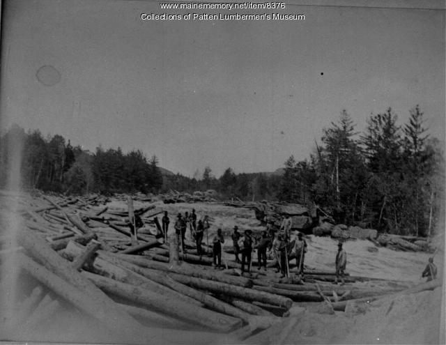 West Branch of the Penobscot River, ca. 1900