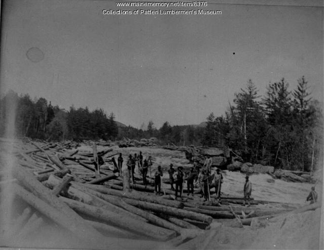 West Branch of the Penobscot River, ca. 1900