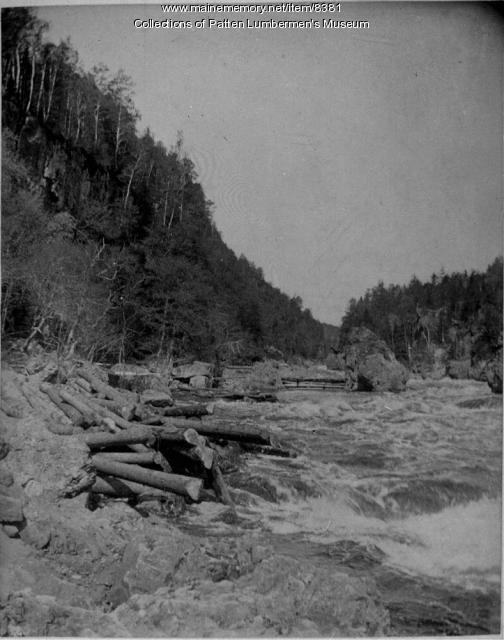 Ripogenus Gorge, Penobscot, May 1891
