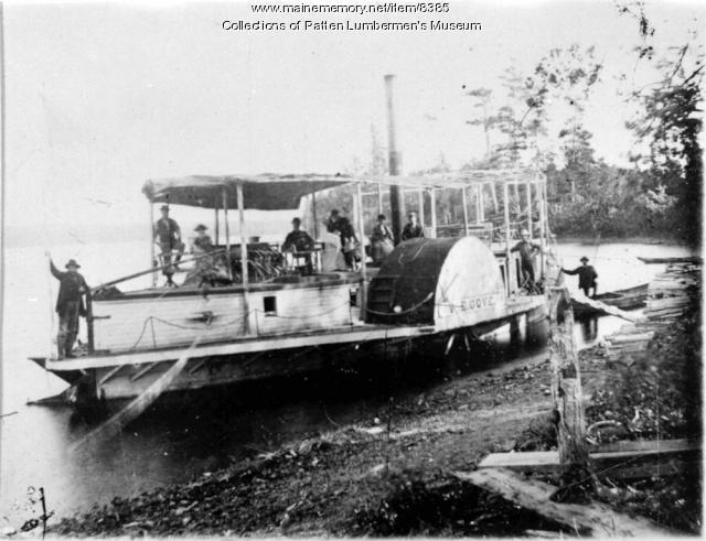 M.E. Gove, Mattawamkeag Lake
