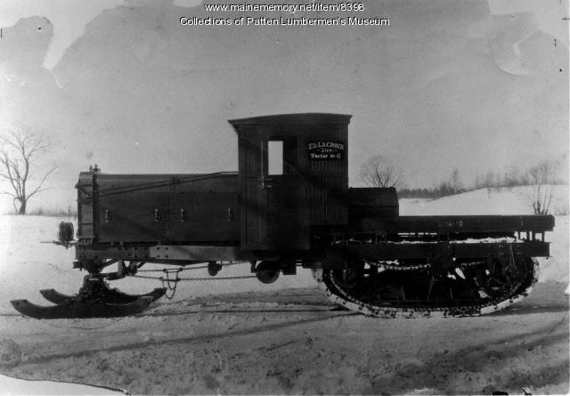 Ed LaCroix's gasoline Lombard Loghauler #6