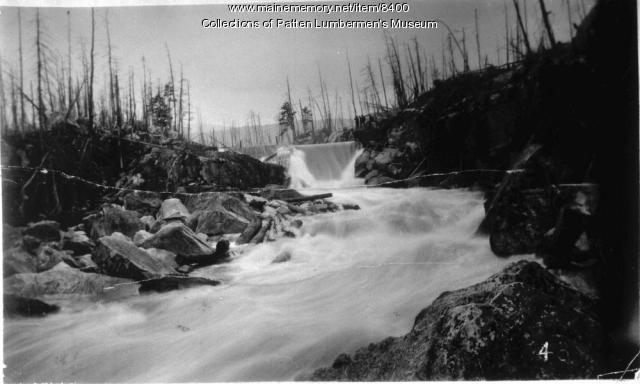 Daicey Dam on the Wissataquoik