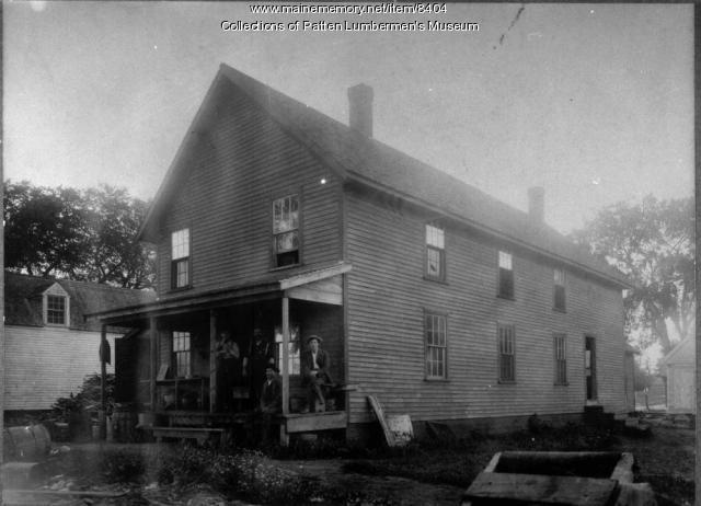 Boom House, Penobscot River