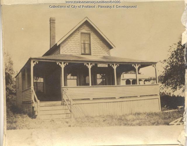 Harlow property, E. Side Veteran Street, Peaks Island, Portland, 1924