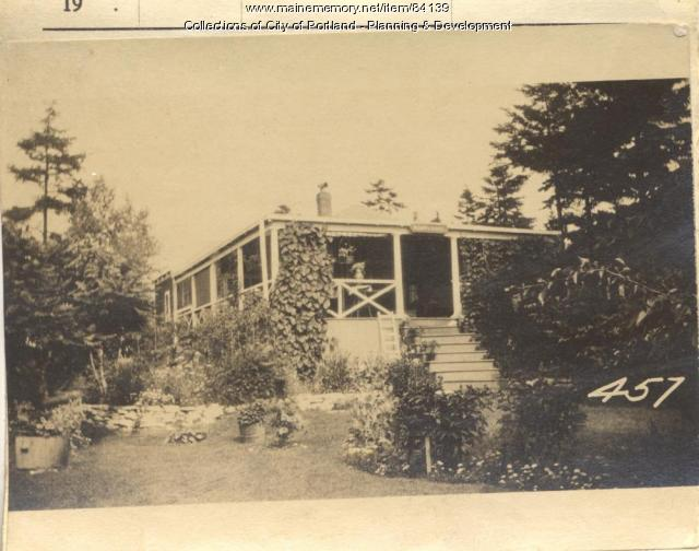 Kennedy property, E. Side Veteran Street, Peaks Island, Portland, 1924