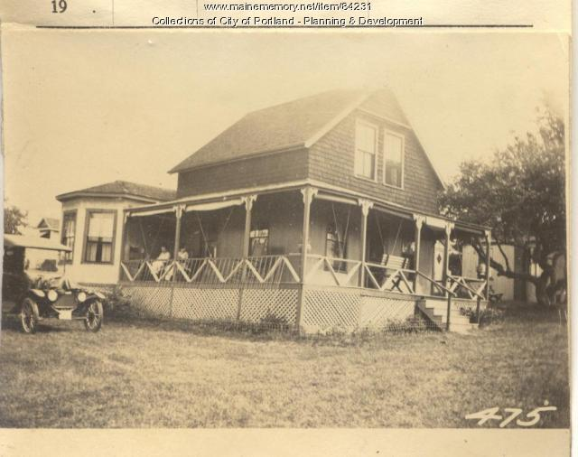 Shaw property, N. Side Welch Street, Peaks Island, Portland, 1924