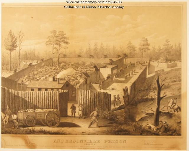 Views of Andersonville Prison, 1865
