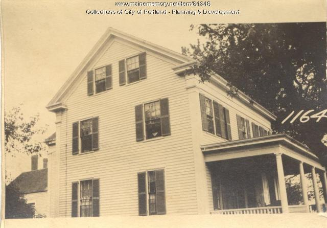 Fisher property, W. Side Whitehead Street, Peaks Island, Portland, 1924