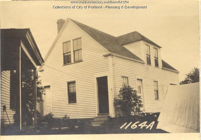 Fisher property, E. Side Whitehead Street, Peaks Island, Portland, 1924