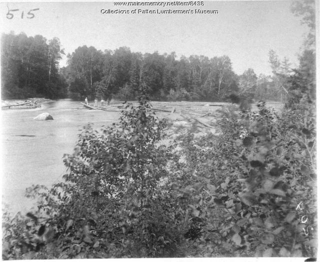 Jam at Crofoot, East Branch, Penobscot River