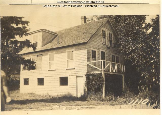Albert property, S. Side Winding Way, Peaks Island, Portland, 1924