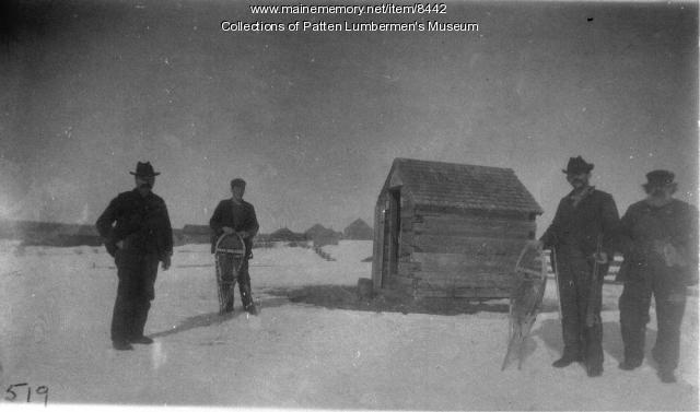 Chamberlain farm, Piscataquis County, ca. 1900
