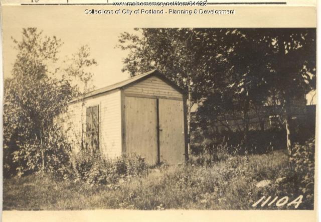 Alberts property, S. Side Winding Way, Peaks Island, Portland, 1924