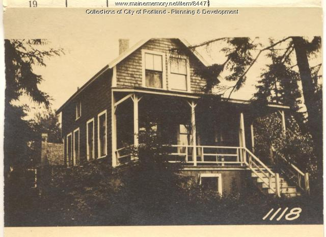 Wight property, E. Side Winding Way, Peaks Island, Portland, 1924