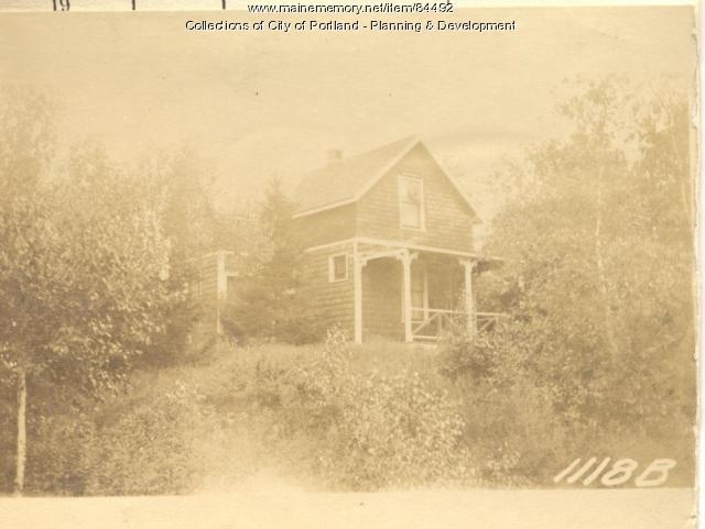 Wight property, S. Side Winding Way, Peaks Island, Portland, 1924