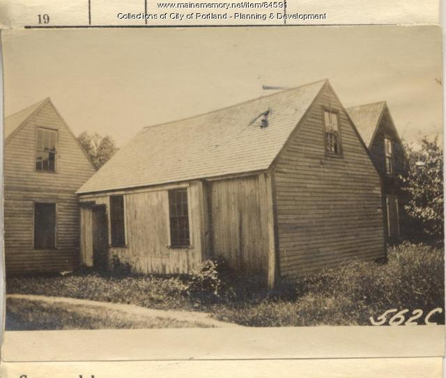 Sterling property, Woods Road, Peaks Island, Portland, 1924