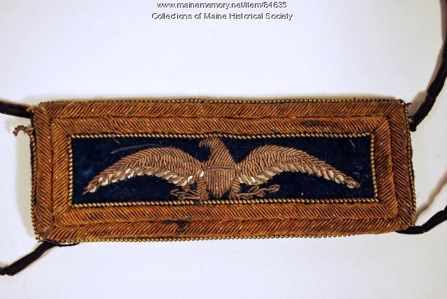 John M. Brown shoulder strap, ca. 1864