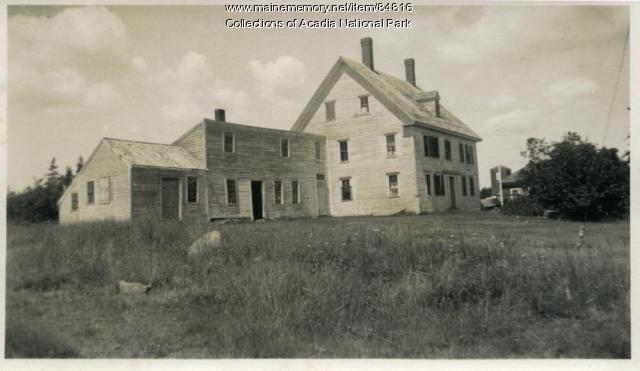 The Preble House, Great Cranberry Island, ca. 1935