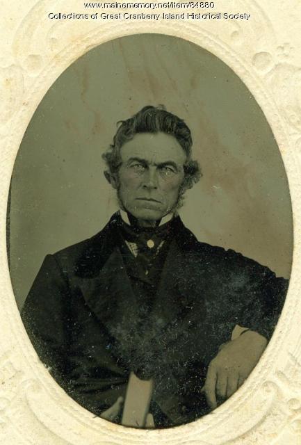 William Pitt Preble, ca. 1870