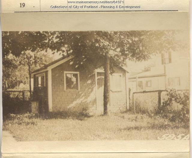 Thompson property, S. Side Luther Street, Peaks Island, Portland, 1924