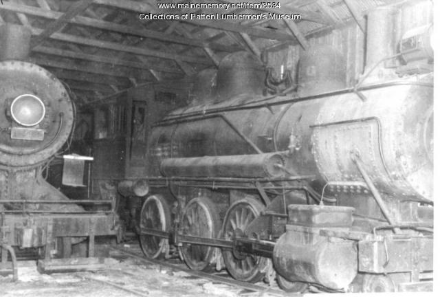 These Ghost Trains Are Left In The North Maine Woods At Eagle Lake They Shuttled Logs Along A 12 Mile Section Of Track For Few Years