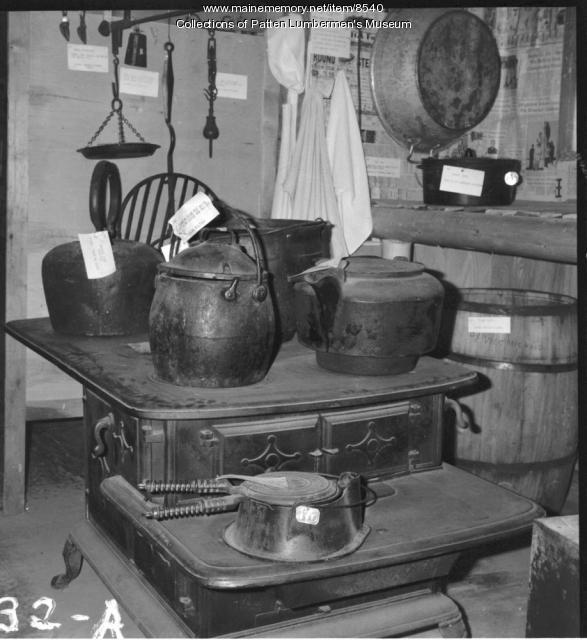 Logging camp cook's kitchen