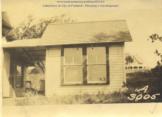 Bigelow property, Elizabeth Road, Little Diamond Island, Portland, 1924