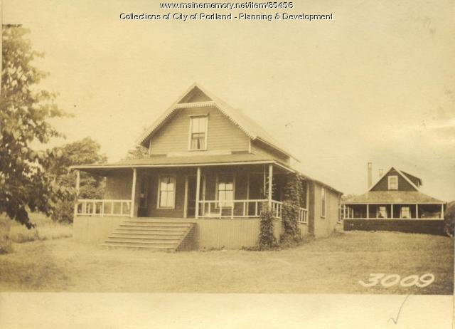 Graham property, City View Avenue, Little Diamond Island, Portland, 1924