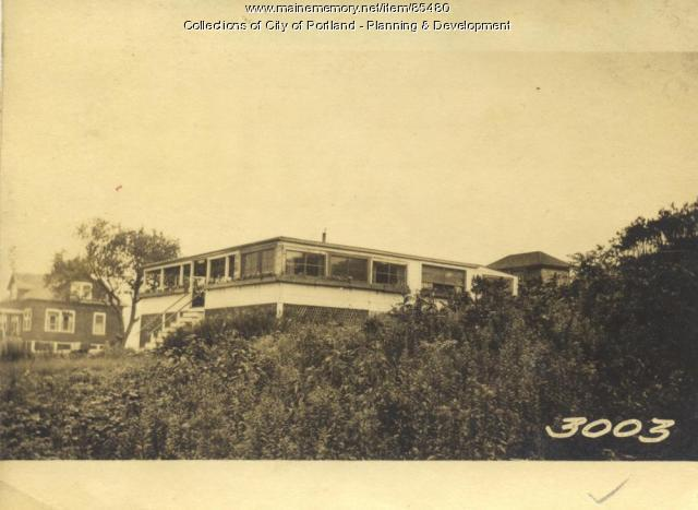 Bigelow property, City View Avenue, Little Diamond Island, Portland, 1924