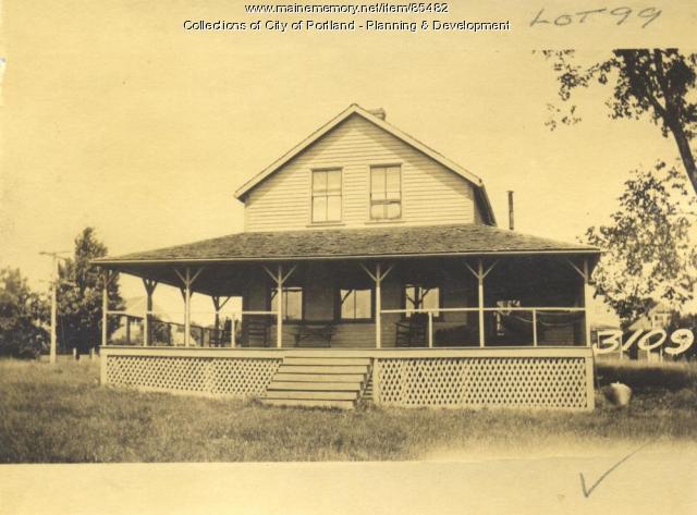 McIntyre property, Valley Avenue, Great Diamond Island, Portland, 1924