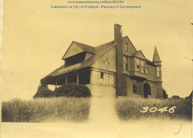Rollins property, Gorges Avenue, Great Diamond Island, Portland, 1924