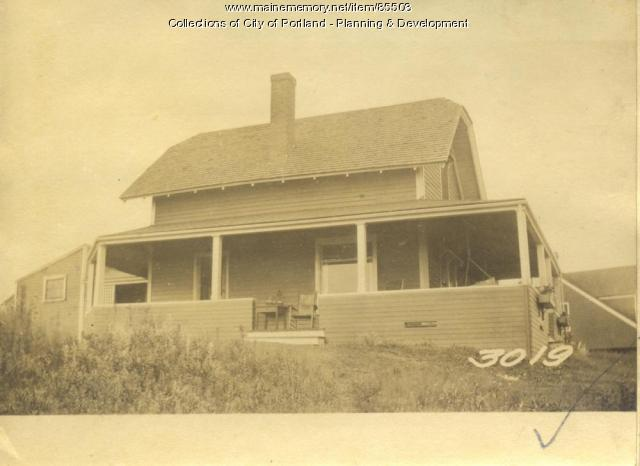 Hamilton property, Hillside Road, Little Diamond Island, Portland, 1924