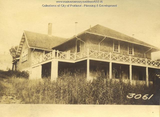 Great Diamond Island Association property, Crescent Avenue, Great Diamond Island, Portland, 1924