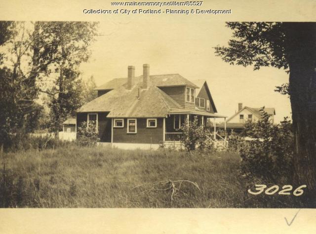 Fullerton property, S. W. Side Sorrento Road, Little Diamond Island, Portland, 1924