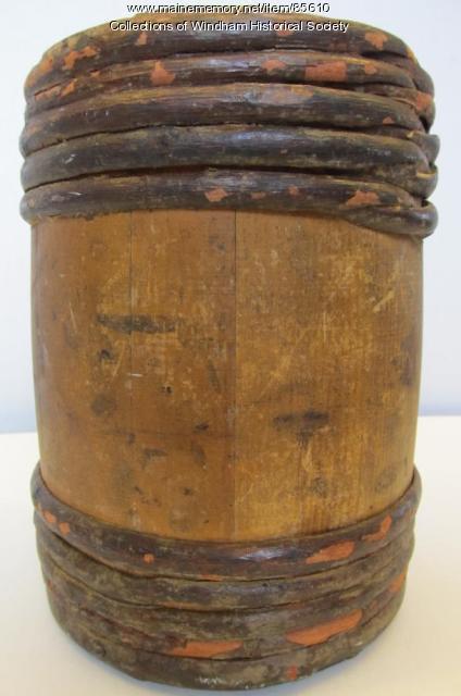 Oriental Powder Mills gunpowder keg, Gorham and Windham, ca. 1860