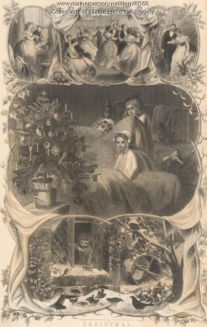 Christmas views, 1866