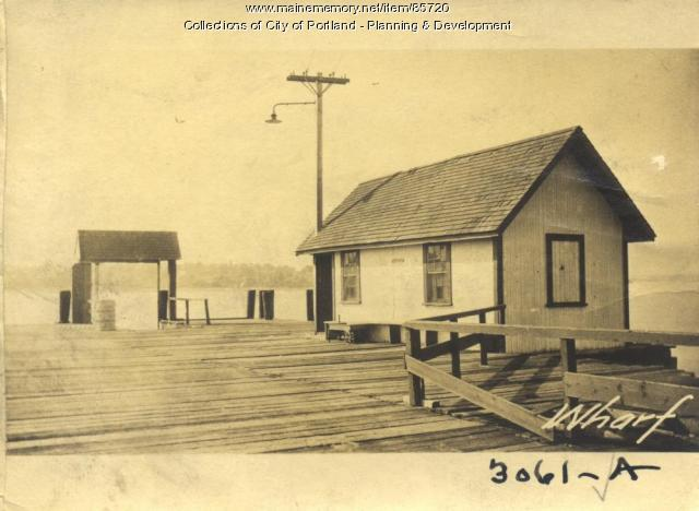 Great Diamond Island Association property, Great Diamond Island, Portland, 1924