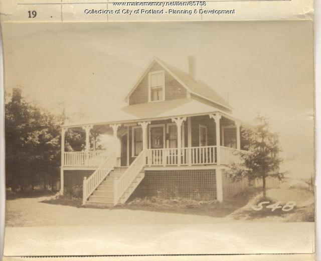Lackey property, S. Side Maple Street, Peaks Island, Portland, 1924