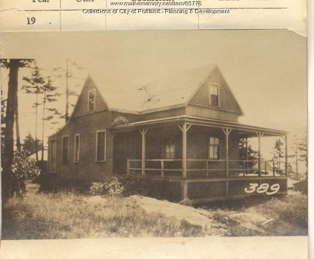 Charles B. Dalton Inc property, S. Side Meridian Street, Peaks Island, Portland, 1924