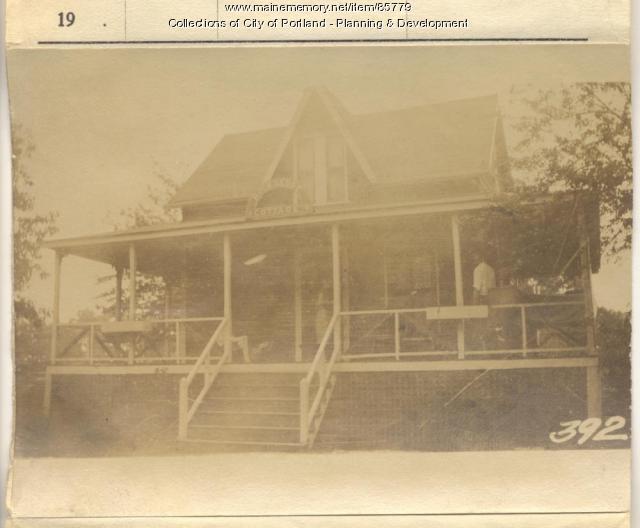 MacKenzie property, S. Side Meridian Street, Peaks Island, Portland, 1924