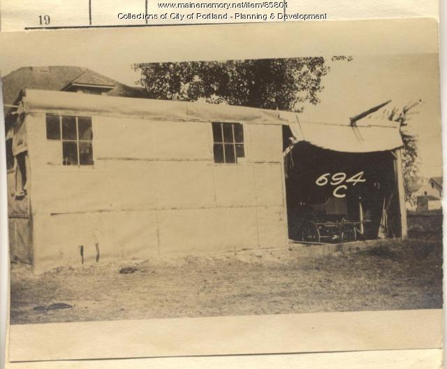 Cushman property, E. Side Centennial Street, Peaks Island, Portland, 1924