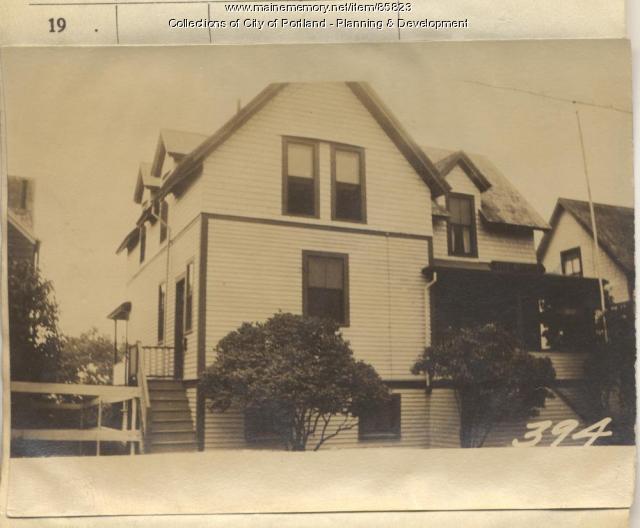 Ricker property, S. Side Meridian Street, Peaks Island, Portland, 1924