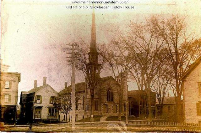 Methodist Church and Fire Station