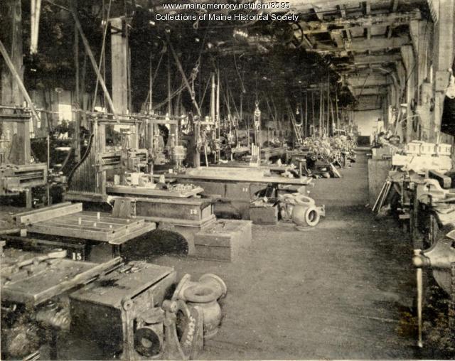 Shop floor, Portland Company, ca 1900
