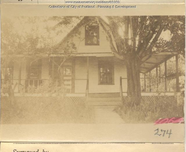 Cook property, S. Side Ocean Avenue, Peaks Island, Portland, 1924