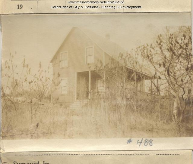 Roche property, Near Spar Cove, Peaks Island, Portland, 1924