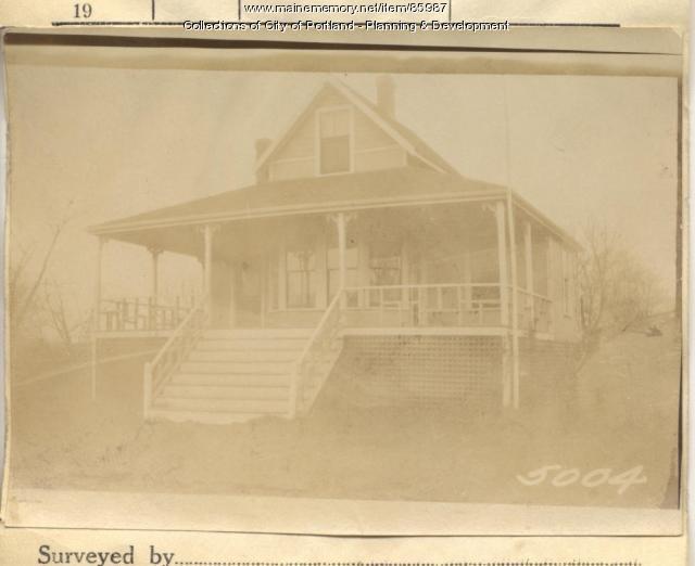 Kilborn property, N. Side Mariner's Lot, Peaks Island, Portland, 1924